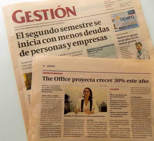 Natalia Manso Conversó con el Diario Gestión