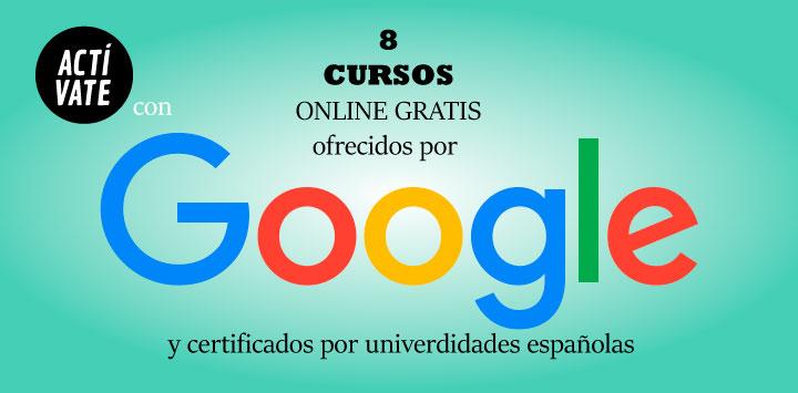 Google presenta 8 cursos gratuitos y certificados