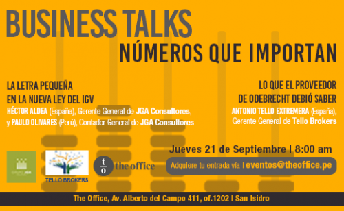 Business Talks: Números que importan