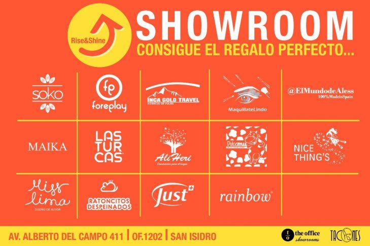 Showroom RiseAndShine